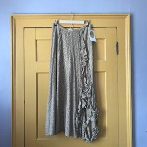 Linda Lundström luxurious handmade skirt